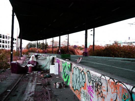 street art sur la petite ceinture